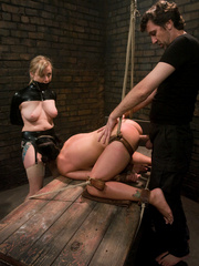 Xxx bondage. Blonde and brunette in bondage - Unique Bondage - Pic 10