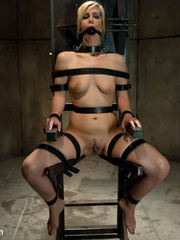Bdsm sex. Tara busted for glory hole and - Unique Bondage - Pic 4