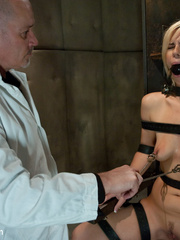 Bdsm sex. Tara busted for glory hole and - Unique Bondage - Pic 5