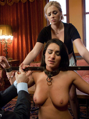 Slave girls. Busty wife and servant - Unique Bondage - Pic 4