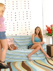 Strap on porn. Lesbian dominates her - Unique Bondage - Pic 1