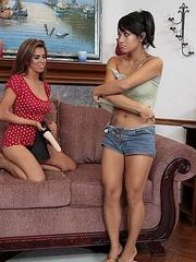 Hot lesbians. StraponLesbians. - Unique Bondage - Pic 6