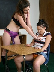 Female strap on. StraponLesbians. - Unique Bondage - Pic 18