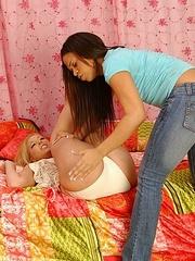 Lesbian. StraponLesbians. - Unique Bondage - Pic 9