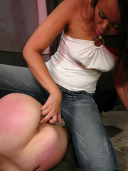 Sexual spanking. Duct taped and helpless in - Unique Bondage - Pic 4