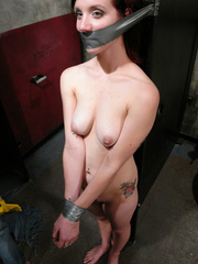 Sexual spanking. Duct taped and helpless in - Unique Bondage - Pic 7