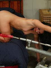 Machine sex galleries. Roxy Jezel fucks - Unique Bondage - Pic 2