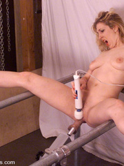 Fucking machines porn. Cowgirl is back for - Unique Bondage - Pic 3