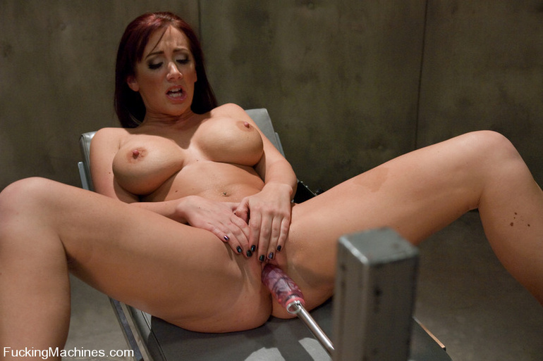 Girls sex machines. Famous pornstar Jayden - Unique Bondage - Pic 4