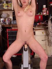 Fucking machines sex. Watch Crissy Sparks - Unique Bondage - Pic 6