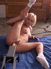 Fucking machines sex. Watch Crissy Sparks - Unique Bondage - Pic 13