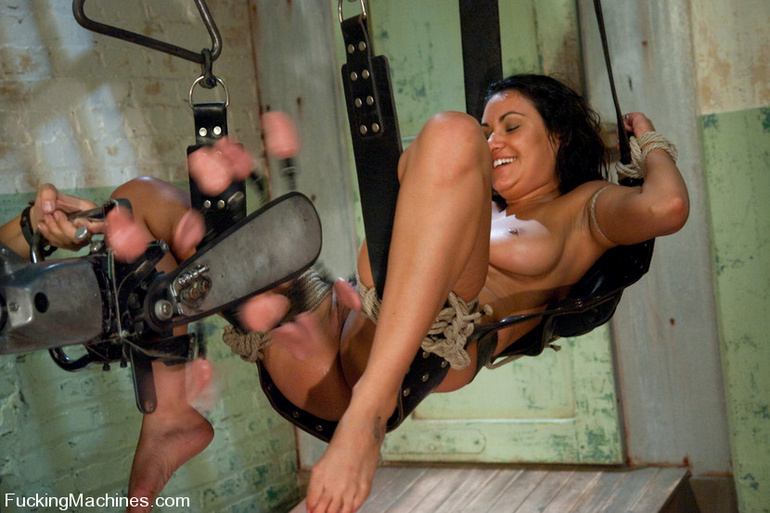 Mechanical sex machine. Charley Chase big - Unique Bondage - Pic 8