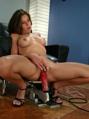 Machine sex galleries. This hottie takes her - Unique Bondage - Pic 10