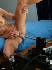 Machine sex galleries. This hottie takes her - Unique Bondage - Pic 11