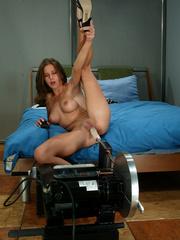 Machine sex galleries. This hottie takes her - Unique Bondage - Pic 15