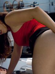 Fuck machine. Amateur freshman girl with big - Unique Bondage - Pic 2