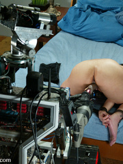 Adult sex machines. Three hot girls get off - Unique Bondage - Pic 7