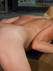 Machines sex. Amateur blond never done porn - Unique Bondage - Pic 7
