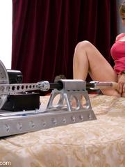 Machine fucking. Ava Devine gets a double - Unique Bondage - Pic 7