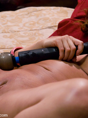 Machine fucking. Ava Devine gets a double - Unique Bondage - Pic 13