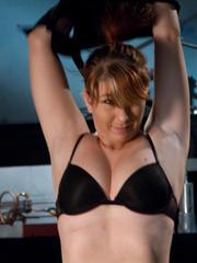 Fuck machine. Amateur girl has full body - Unique Bondage - Pic 2