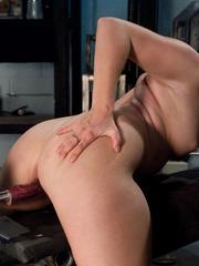 Fuck machine. Amateur girl has full body - Unique Bondage - Pic 3