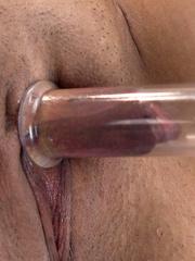 Sexmachines. Latin babe has multiple pussy - Unique Bondage - Pic 1