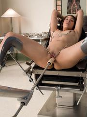 Sexmachines. Latin babe has multiple pussy - Unique Bondage - Pic 8