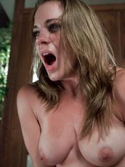 Fucking machine porn. Young hot blonde gets - Unique Bondage - Pic 12