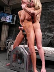 Girls sex machines. Harmony, Sammie Rhodes - Unique Bondage - Pic 9