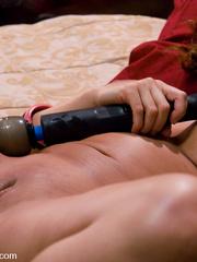 Girls sex machines. Ava Devine gets a double - Unique Bondage - Pic 14