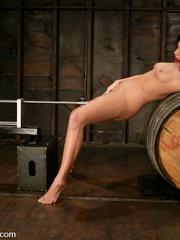Fucking machines sex. Foxy Roxy DeVille is - Unique Bondage - Pic 10