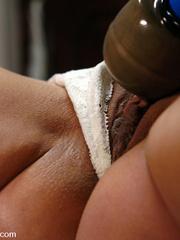 Sex machine porn. Babe with big tits and - Unique Bondage - Pic 6