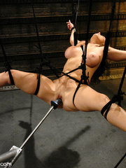 Fucking machines sex. Christina Carter gets - Unique Bondage - Pic 8