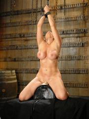 Fucking machines sex. Christina Carter gets - Unique Bondage - Pic 10