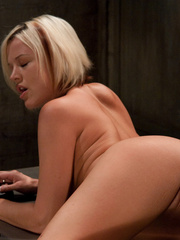 Fucking machine xxx. Sexy blond machine - Unique Bondage - Pic 6