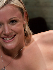 Fucking machine xxx. Sexy blond machine - Unique Bondage - Pic 15