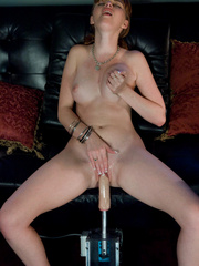 Sex machine xxx. Red head, natural big tits - Unique Bondage - Pic 13