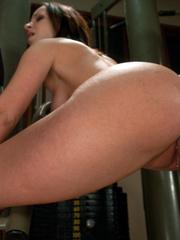 Mechanical sex machine. Jada's perfect ass - Unique Bondage - Pic 7