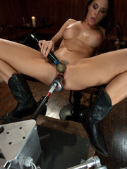 Fuckingmachines. Hot Starlet Chanel Preston - Unique Bondage - Pic 8