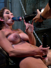 Xxx fucking machines. Felony babbles in - Unique Bondage - Pic 1