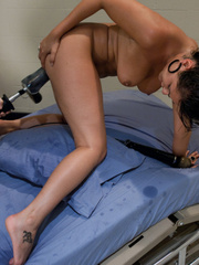 Sexmachines. Charley Chase is the wild filly - Unique Bondage - Pic 9