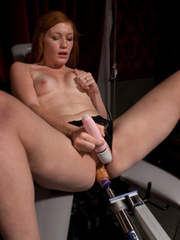 Fucking machine sex. Amateur Girl Machine - Unique Bondage - Pic 4