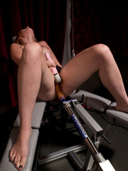 Fucking machine sex. Amateur Girl Machine - Unique Bondage - Pic 8