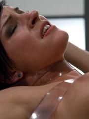 Sex machine orgasms. Smoking hot, Tori Luxe, - Unique Bondage - Pic 9