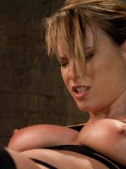Sex machine porn. Harmony Rose, in her final - Unique Bondage - Pic 3
