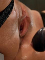 Sex machine porn. Harmony Rose, in her final - Unique Bondage - Pic 8