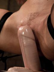 Sex machine porn. Harmony Rose, in her final - Unique Bondage - Pic 9