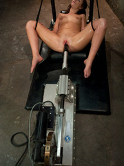 Machines sex. Lily Carter and Isis Love on - Unique Bondage - Pic 12