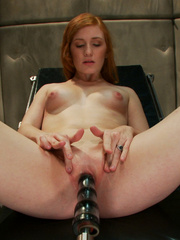Fucking machines xxx. Amateur red head - Unique Bondage - Pic 3